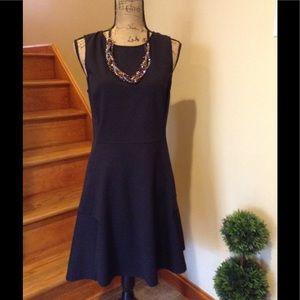 Theory black size large little black dress